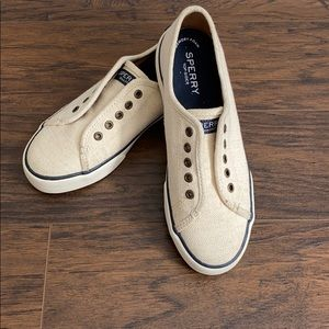 Sperry Slip-On Canvas Sneakers